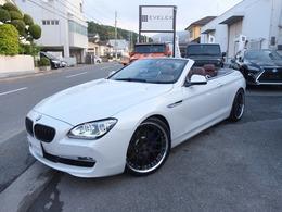 BMW 6シリーズカブリオレ 640i ハイパーフォージド21AW/新品サス/M6グリル