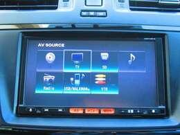 CD再生、フルセグTV内蔵でナビとしての機能だけでなく、あなたのドライブを快適にサポートしてくれます♪