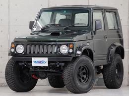 スズキ ジムニー 660 ワイルドウインド 4WD 全塗装済 リフトアップ 2名乗車公認