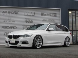BMW 3シリーズツーリング 320d Mスポーツ KW車高調 社外マフラー純正20AW 3Dデザイン