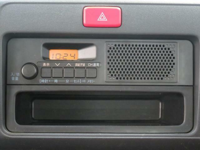 純正FM/AMチューナーが付いています。