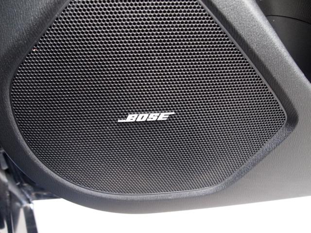 低音から高音までしっかり奏でるBOSEサウンドシステム!