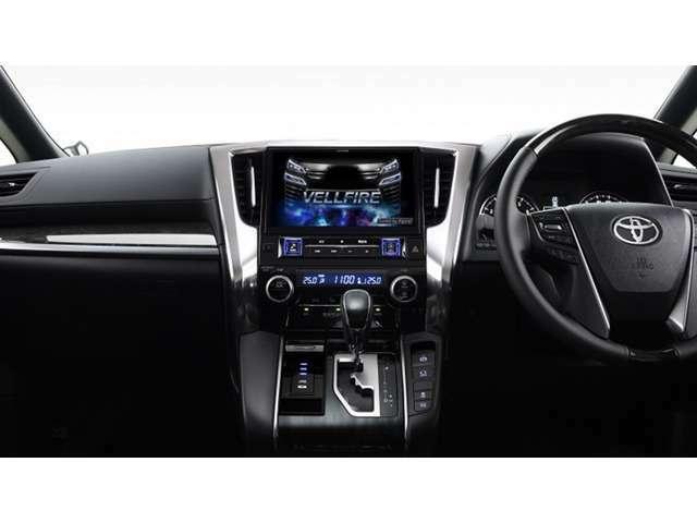 Bプラン画像:ステアリングから手を離すことなく声で瞬時にナビの操作ができる「ボイスタッチ」を搭載。安心・安全で快適なドライブをサポートします