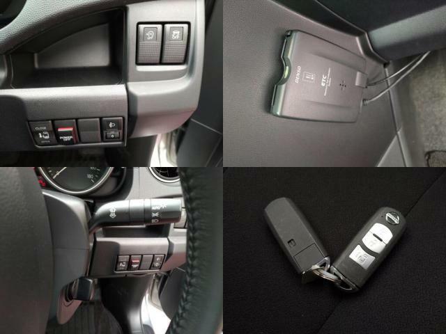 キーフリー車です。このタイプのお車は鍵を持っていれば鍵を出さなくてもドアロックの開閉やエンジン始動などできる便利なキーとなります。
