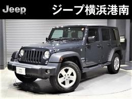 ジープ ラングラー アンリミテッド スポーツ 4WD 認定中古車・クルーズコントロール・ETC