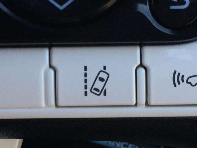 「レーンキープアシスト」 車線を外れそうな時に警告して、ふらつき運転を防止します!