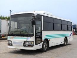いすゞ ガーラミオ 29人乗りバス サロン仕様 貫通トランク2室 スイング式自動扉 ニーリング 冷蔵庫