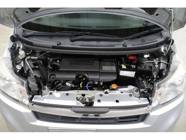 全車に変速ショックとタイムラグの少ないスムーズな加速を実現する「CVT」を搭載。燃費性能にも優れ、エコドライブをアシストします。