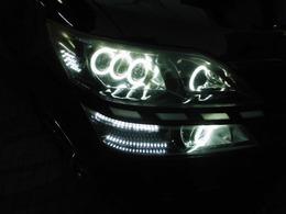 3連LED+1プロ+1プロ+イカリングLEDデイライト流れるウィンカー!