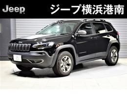 ジープ チェロキー トレイルホーク 新車保証・当店デモカー・純正ドラレコ