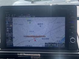 ホンダインターナビ対応の純正ナビ装着済みですので、その他インターナビ装着車両からの道路交通情報を基にお客様を迅速に目的地までご案内させて頂きます。