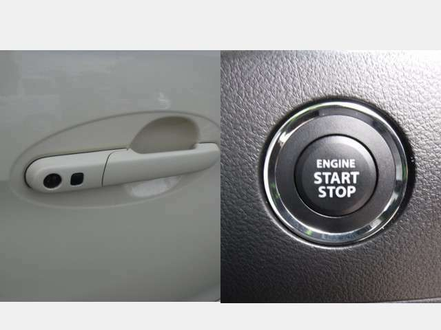 ブレーキを踏んでボタンを押すだけでエンジンがかかるプッシュスタートエンジン