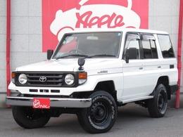 トヨタ ランドクルーザー70 4.2 LX ディーゼル 4WD 新品バンパー 社外セキュリティ