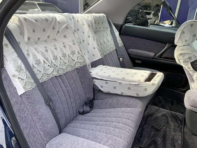 ★後席シートも広々♪フカフカのシートでゆったり出来ます♪