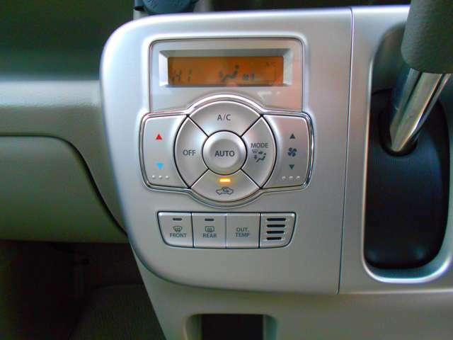 面倒な操作不要のオートエアコン!手軽に快適な室内温度にします!