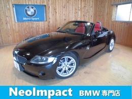 BMW Z4 ロードスター2.2i ロマンティック レッドレザー シートヒータ バッテリ新品