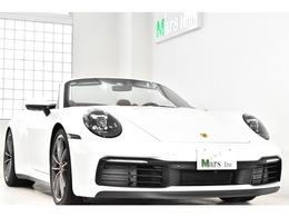 ポルシェ 911カブリオレ カレラS PDK 正規D車 左H SクロノPKG スポエキ 赤革赤幌