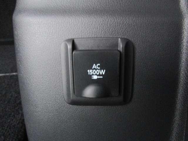 AC100V/1500W電源です!