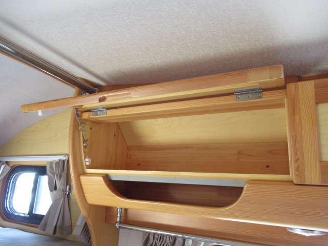収納スペースにもこだわりたっぷりと荷物を収納できます!!