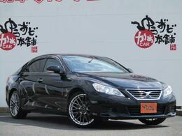 トヨタ マークX 2.5 250G 純正HDDナビwarwic19AW黒革調シートカバー