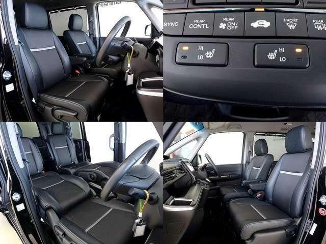 上質なコンビ革調シート 更にシートヒーターも完備 コンディションも良いです