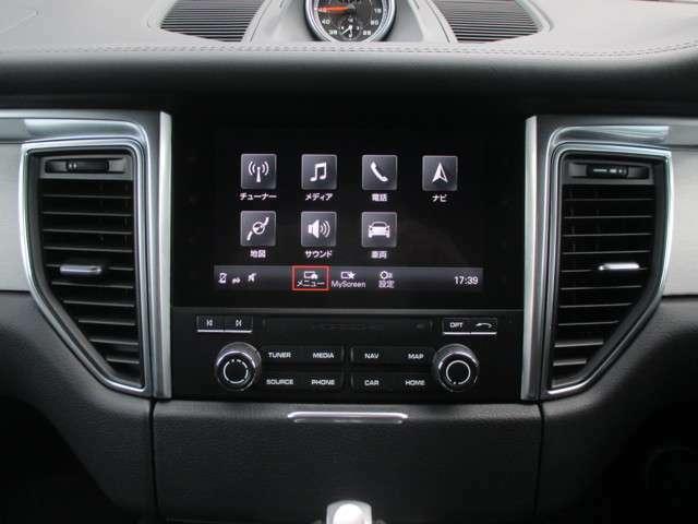 ポルシェ・コミュニケーション・マネージメントシステム(PCM) 7インチタッチスクリーンディスプレイ ナビゲーションシステム Bluetoothハンズフリー・オーディオストリーミング DSRC車載器