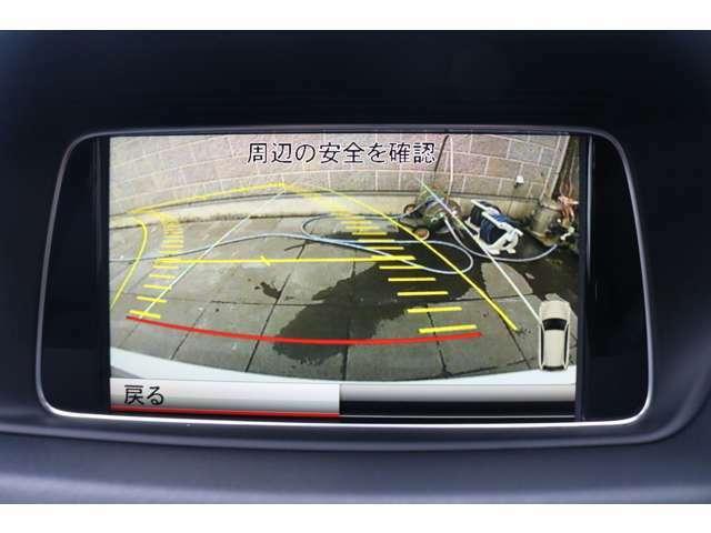 ガイドライン付バックモニターを装備!車体後方の視界確保もしっかりサポートしてくれます!狭い路地での駐車や車庫入れ時に安心して操作が可能です!