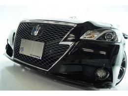 トヨタ クラウンアスリート ハイブリッド 2.5 S アドバンスP新品アルミ新タイヤ新品車高調