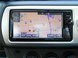 【ナビゲーション】ナビゲーションはトヨタ純正7型メモリーナビです。これさえあれば初めての道でも安心ですね。