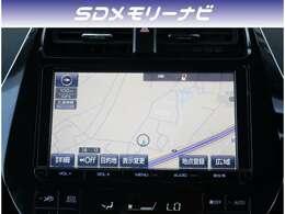 【ナビ】純正9型SDナビが付いています。CD録音やDVD再生、Bluetoothオーディオなど音楽機能も充実しています。