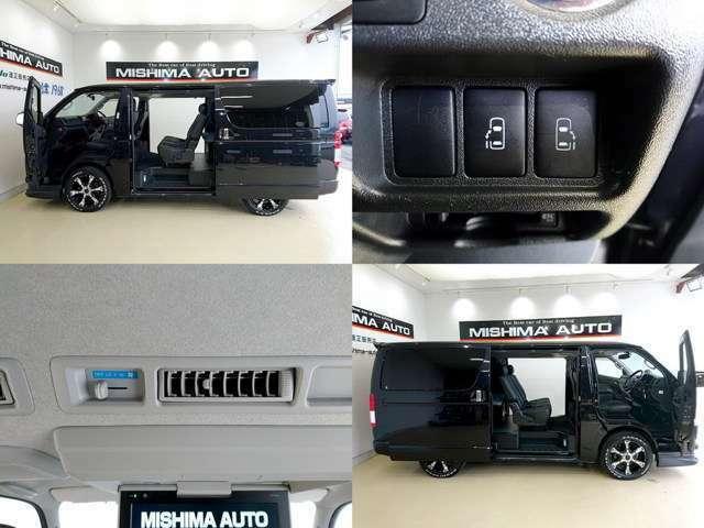 商用車ですが 電動両側パワースライドドア完備 装備は高級ミニバンですね、ビジネス 趣味 車中泊 送迎 バイクトランポ 貴方は何を始めますか・・・