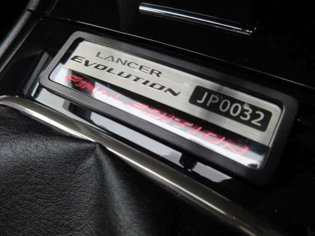 ファイナルエディション専用プレートです♪「JP0032」番になります♪