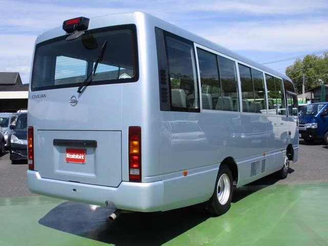 平成24年式 シビリアン 4.5ガソリン車 SX 29人乗り 自動ドア