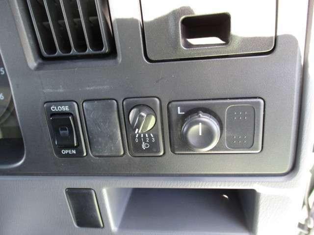 左リモコンミラー ライトレベリング 左自動ドア