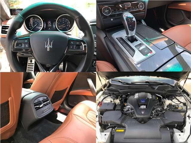 ★カーボンコンビハンドル・カーボンインテリアによりスポーティーな印象に。★V6ツインターボエンジン★リアシートヒーター