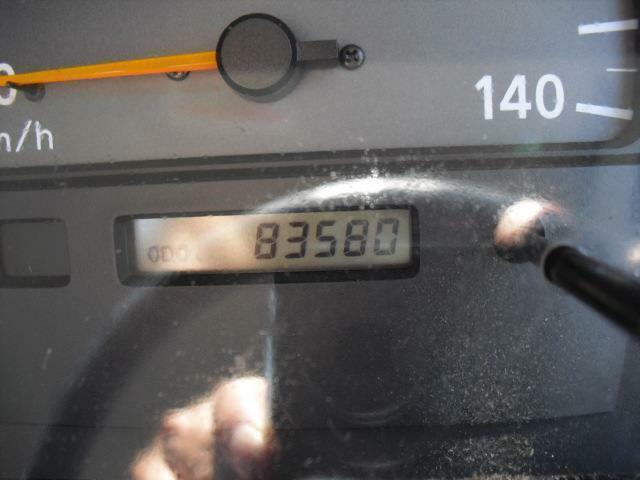 走行数は8万3千キロ代でディーゼルエンジンとしては、まだまだこれからといった所です