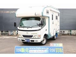 トヨタ カムロード キャンピング バンテック レオバンクス 2WD FFヒーター トイレ シャワー