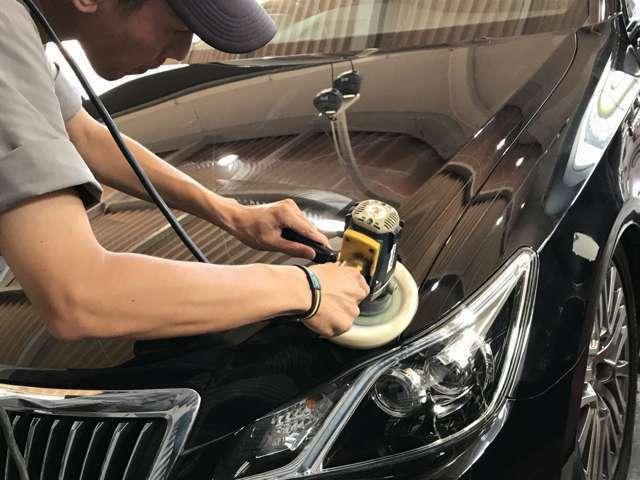 Aプラン画像:毎日乗る愛車だから☆常に綺麗にしていたいですよね?!ボディガラスコーティングでツヤツヤボディを手に入れてみませんか?!パック価格でリーズナブルに実施いたします!