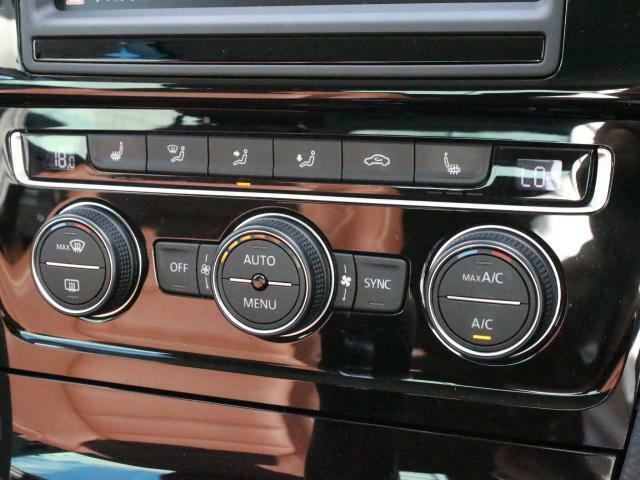 2ゾーンフルオートエアコンは、運転席と助手席でそれぞれお好みの温度に設定できます。お二人で乗るときうれしい機能です。