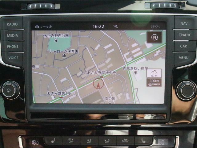 純正ナビゲーションシステムDiscover Pro を装備、CD、TV、ラジオのほかSDカード、USB、Bluetoothも対応しています。