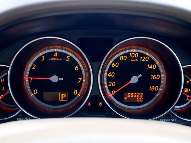 【メーター】現在の走行距離69,323kmでございます。