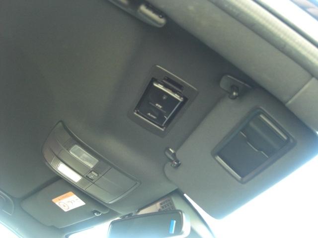 運転席ドアバイザー裏にETC収納
