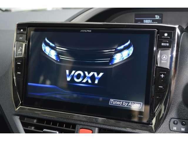 Aプラン画像:アルパインのVOXY専用!BIG-X 11インチナビとバックカメラ&パナソニック ETC車載器のお得なパッケージ!TVもDVDも大画面で見やすく、操作もし易くなっております!オーディオも専用チューニング済の高音質!