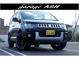 三菱 デリカD:5 2.4 M 4WD 電スラ新16AW新タイヤMナビBTオーディオ4WD