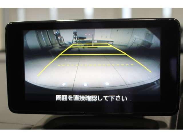 センターディスプレイ バックカメラ付で車庫入れや縦列駐車も楽々です。