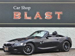 BMW Z4 ロードスター2.5i 後期型 黒本革シート 電動オープン