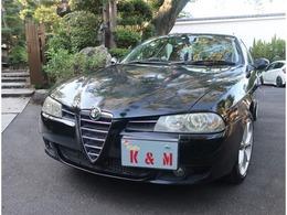 アルファ ロメオ アルファ156 2.5V6 24V Qシステム 限定車リネアロッサ 全年記録簿 禁煙