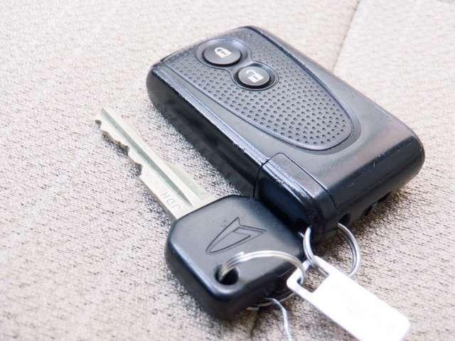 スマートキーになっているので、ドアロックの開閉からエンジンの始動まで、カバンから鍵を出す必要がありません!