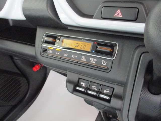 ボタン一つで設定可能 オートエアコン!