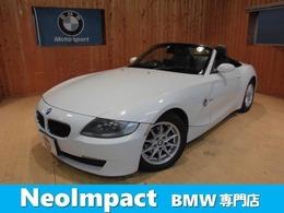 BMW Z4 ロードスター2.5i 電動オープン ナビ ETC